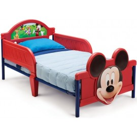 Pat cu cadru metalic Disney Mickey Mouse 3D Delta Children