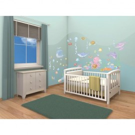 Kit Decor Baby Under the Sea Walltastic