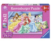 PUZZLE PALACE PETS 2x12 PIESE