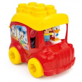 SET CUBURI CLEMMY BABY MICKEY SCHOOL BUS CLEMENTONI