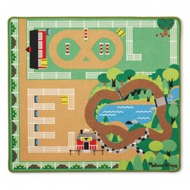 Covor de joaca Ferma calutilor Melissa and Doug