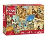 Puzzle Vederi din Europa Melissa and Doug