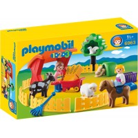 1 2 3 Animale la Zoo Playmobil