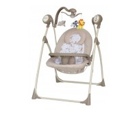 Leagan Electric Copii Cu Muzica SW102RC Beige Baby Mix