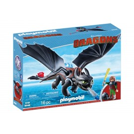 HICCUP SI TOOTHLESS Playmobil