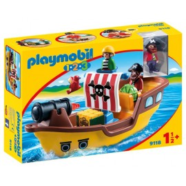 Barca piratilor 1 2 3 Playmobil