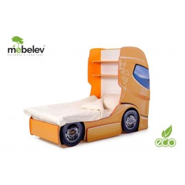 Pat camion MyKids DUO SCANIA 1 Orange