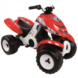 ATV electric Smoby X Power rosu