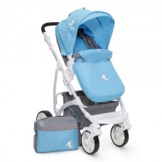 Carucior 2 in 1 transformabil Tala Blue Moni