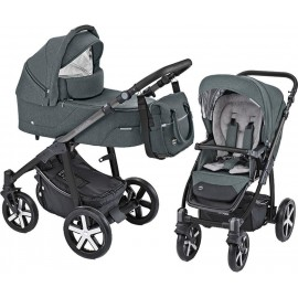 Baby Design Husky carucior multifunctional + Winter Pack 17 Graphite 2019