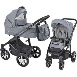 Baby Design Husky carucior multifunctional + Winter Pack 07 Gray 2019