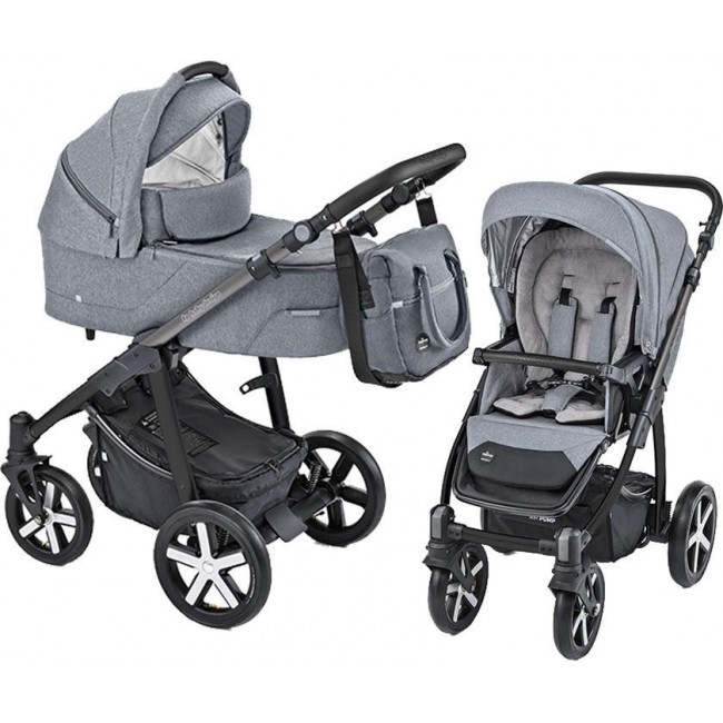 Carucior 2 in 1 Husky carucior multifunctional plus Winter Pack 07 Gray 2019 Baby Design