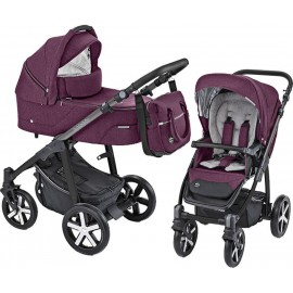 Baby Design Husky carucior multifunctional + Winter Pack 06 Violet 2019