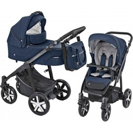 Carucior 2 in 1 Husky carucior multifunctional plus Winter Pack 03 Navy 2019 Baby Design