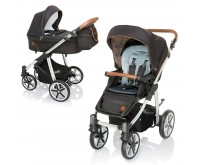 Carucior 2 in 1 Dotty 100 Dark Rock 2019 Baby Design