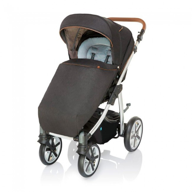 Carucior 2 in 1 Baby Design Dotty 100 Dark Rock 2019