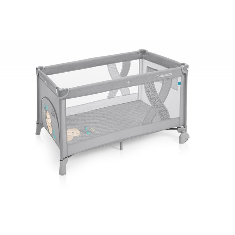 Baby Design Simple patut pliabil 07 Light Grey 2019