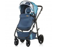 Carucior 2 in 1 Milo marine blue Chipolino