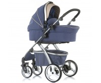 Carucior 3 in 1 Up and Down marine blue Chipolino