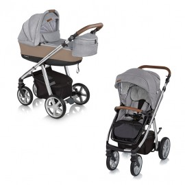 Carucior 2 in 1 multifunctional 207 Chicago Gray 2019 Espiro Next Manhattan