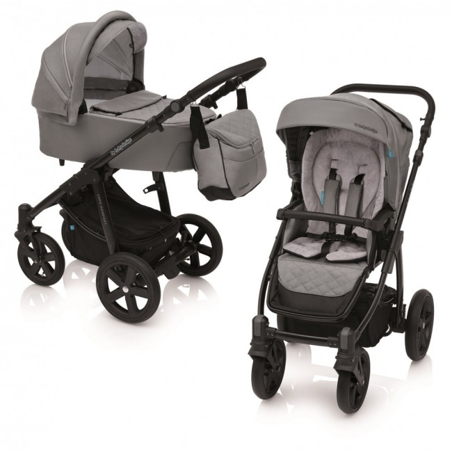 Carucior 2 in 1 Lupo Comfort carucior multifunctional 07 Gray 2019 Baby Design