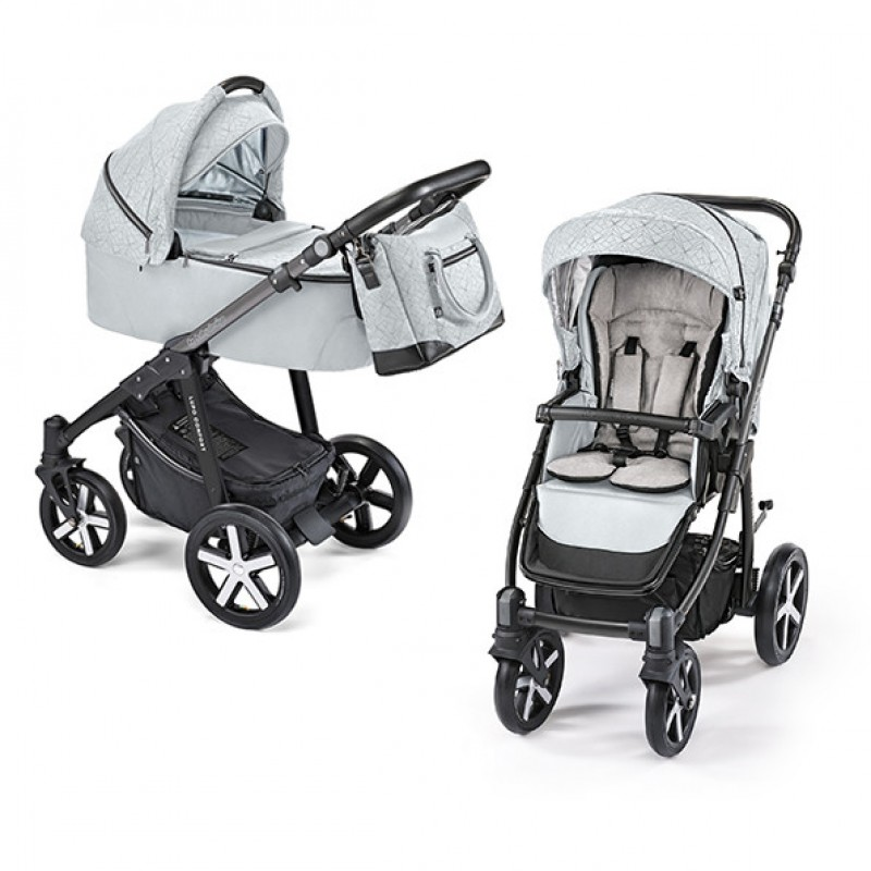Carucior 2 in 1 Lupo Comfort Limited multifunctional 11 Satin 2019 Baby Design