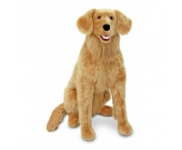 Melissa and Doug Golden Retriever gigant din plus