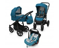 Carucior 3 in 1 Multifunctional Lupo Comfort 05 Turqouise 2018 Baby Design