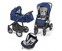 Carucior 3 in 1 multifunctional Lupo Comfort Limited 13 Navy Blue 2019 Baby Design