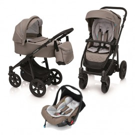 Carucior 3 in 1 Lupo Comfort multifunctional 09 Mindful Gray 2019 Baby Design