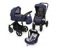 Carucior 3 in 1 Multifunctional Lupo Comfort 03 Navy 2018 Baby Design
