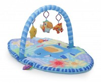 Covoras de joaca Cangaroo HAPPY SPACE JL614-2B BLUE
