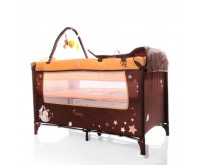 Patut Pliant Bebe Moni Sleepy New Orange