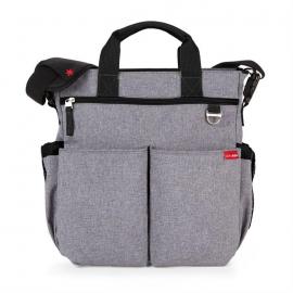 Geanta de scutece Duo Signature Heather grey Skip Hop