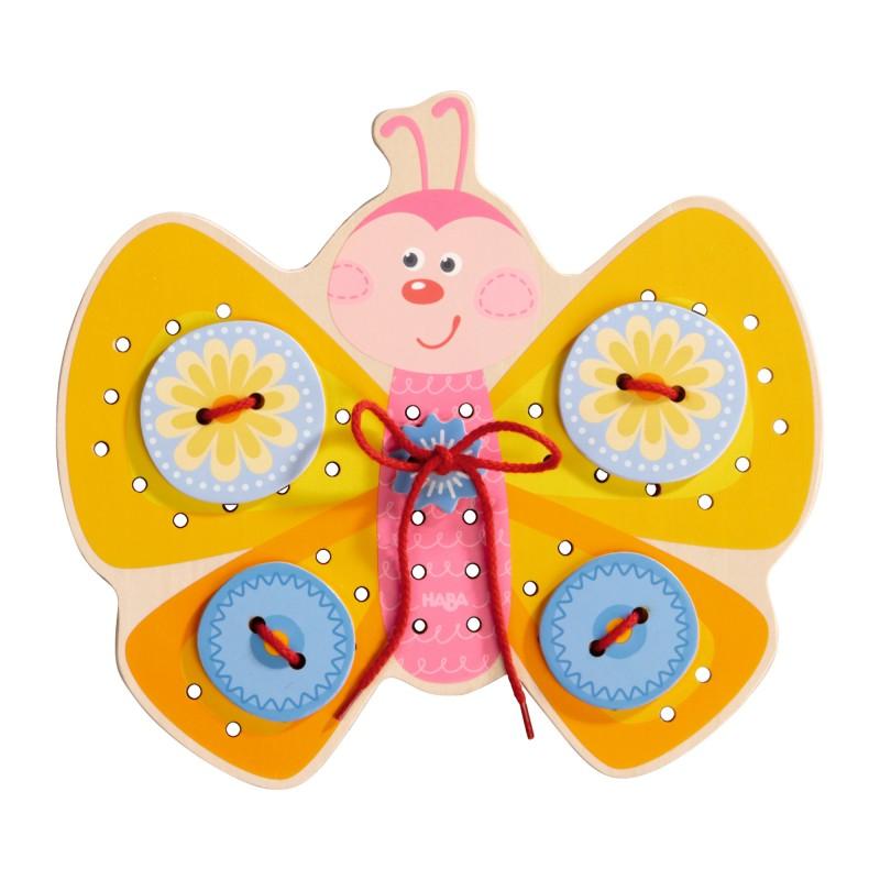 Joc de indemanare cu 2 fete Haba Butterfly