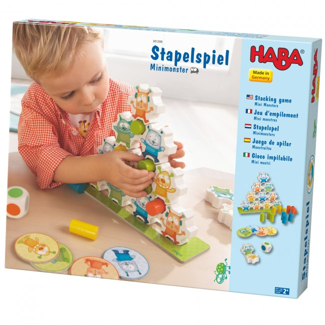 Joc de constructie Haba Mini Monsters
