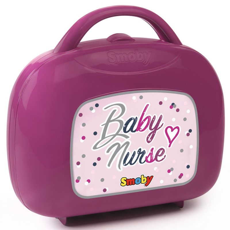 Gentuta pentru ingrijire papusi Smoby Baby Nurse mov