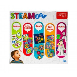 Joc 5 in 1 Stem Learning Kitds