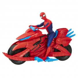 HASBRO Marvel Spider Man Figure with Cycle