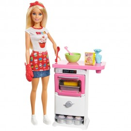 Barbie bakery Chef Doll and Playset FHP57