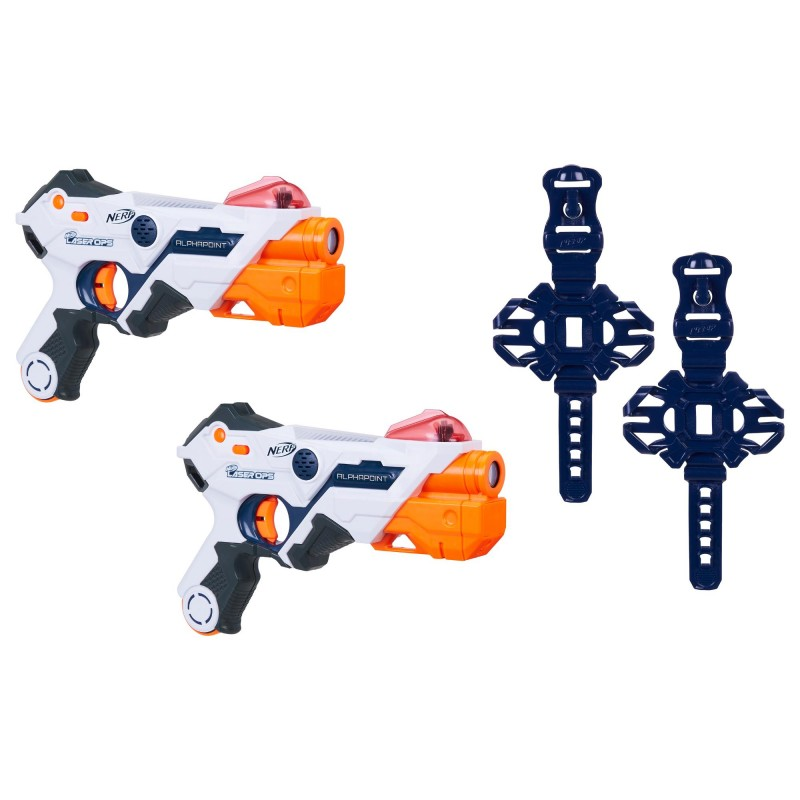 HASBRO Nerf Laser Ops Pro AlphaPoint 2 Pack