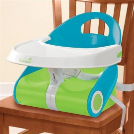 Booster Sit  Style Albastru/Verde Summer Infant