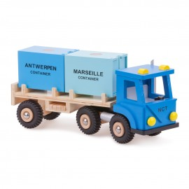 Camion cu 2 containere New Classic Toys