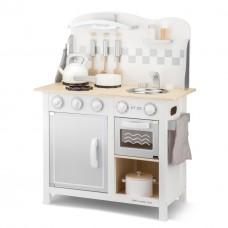 Bucatarie Bon appetit Deluxe Alb Argintiu New Classic Toys