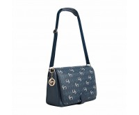 Geanta multifunctionala Ellie Messenger Navy Clevamama