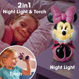 Lampa de veghe Minnie 2 in 1