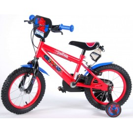 Bicicleta E&L Spiderman 14