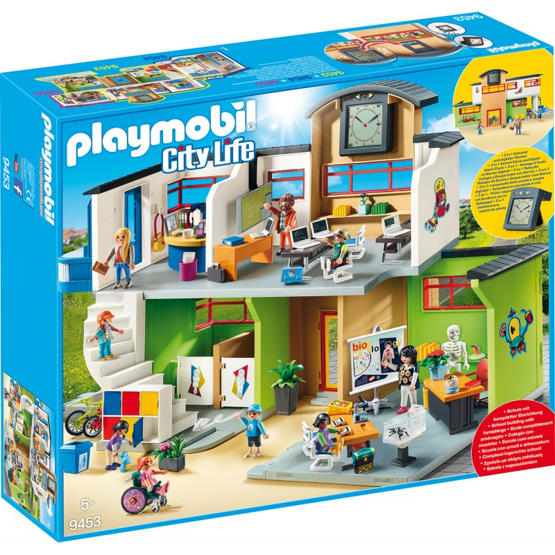 Scoala Mobilata Playmobil