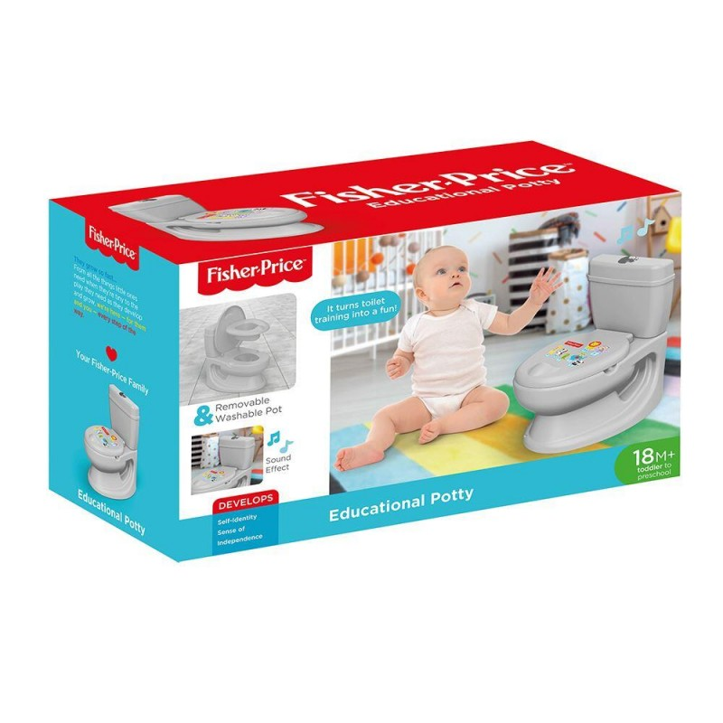 Olita educationala multifunctionala gri Fisher Price