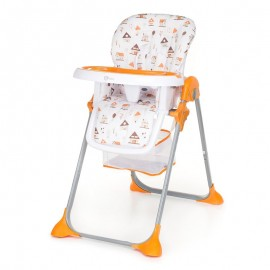 Gmini Scaun de masa Simply Shell Orange